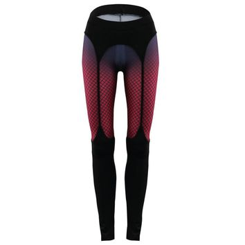 brand yoga leggings printed high waist gym fitness legging women sexy sport tights women Sportswear Workout Running C0846
