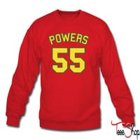 Powers 55 (yellow) sweatshirt