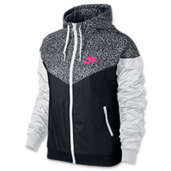 a8f08d56a114 Women s Nike Windrunner AOP Jacket from Finish Line
