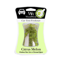 Woodwick Car Vent Freshener - Citrus Melon