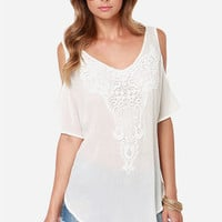 Full of Possibilities Ivory Top