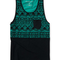Geometric Tribal Pocket Tank
