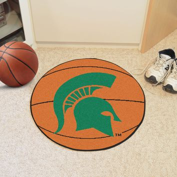 Michigan State Basketball Mat 27 diameter