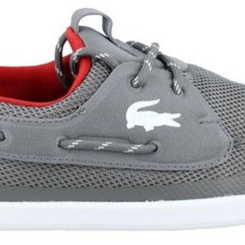 Lacoste Men's Light and Sailing T2 Boat Shoe