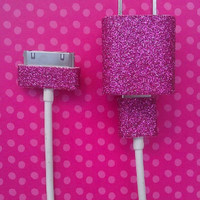 Glitter iPhone Charger 10ft. cord