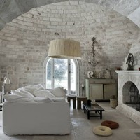 Medieval сastle with the Prince on white?sofa