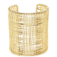 Anna & Ava Wire Wrapped Cuff - Gold