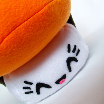 Sishi The Adorable Sashimi Sushi Fleece Plush Toy for Children Kids or Japan lovers.