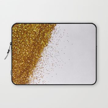 My Favorite Color II (NOT REAL GLITTER) Laptop Sleeve by Galaxy Eyes