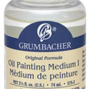 Grumbacher Oil Painting Medium I - BLICK art materials