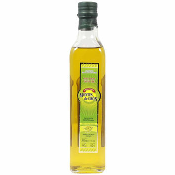 First Cold Pressed Extra Virgin Olive Oil by Montes De Oron 17 oz
