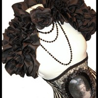 TENDER IS THE NIGHT Ruffled Opulent by lovechildboudoir on Etsy