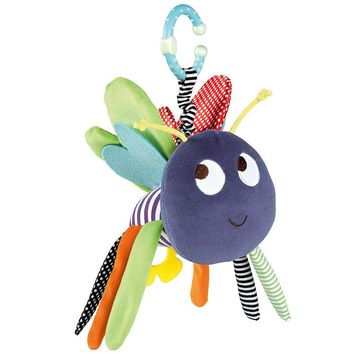 Colorful Baby Toys 0-12 Months Butterfly Stuffed Toys Plush Doll Toys For Newborns Soft Baby Rattles Mobiles Toy