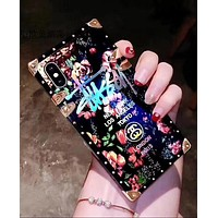 """Hot Sale """"Stussy"""" Stylish Women Men Chic Blu-Ray Roses Mobile Phone Cover Case For iphone 6 6s 6plus 6s-plus 7 7plus 8 8plus X"""