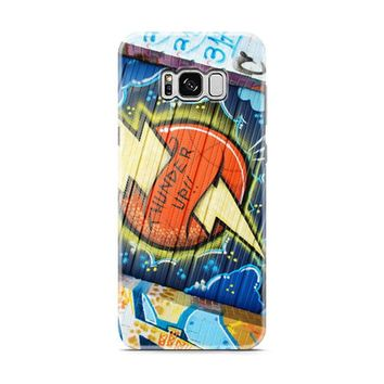 Okc Thunder Graffiti Samsung Galaxy S8 | Galaxy S8 Plus Case