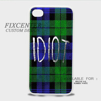 5SOS idiot Rubber Cases for iPhone 4,4S, iPhone 5,5S, iPhone 5C, iPhone 6, iPhone 6 Plus, Samsung Galaxy S3, Samsung Galaxy S4, Samsung Galaxy S5  phone case design