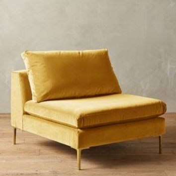 Velvet Edlyn Chair by Anthropologie