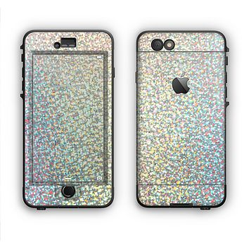 The Colorful Confetti Glitter copy Apple iPhone 6 LifeProof Nuud Case Skin Set