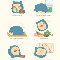 MINI Snorlax's Guide to Employee of the Month
