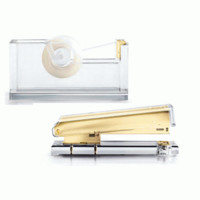 Russell + Hazel Acrylic Stapler and Tape Dispenser Set