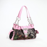 Licensed Mossy Oak, Realtree Camo Western Tote Purse Handbag/Fanny Pack/Cooler or Lunch Bag/Wallet/Messenger Bag