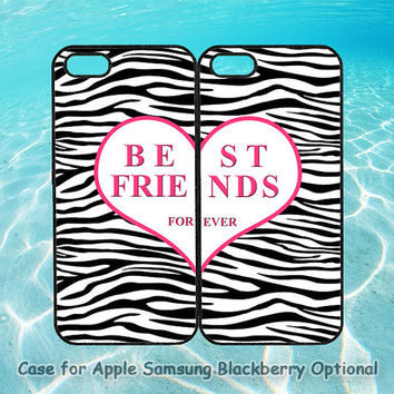Best Friends Zebra for iphone 5 case, iphone 4 case, ipod 4, ipod 5, note 2, Samsung galaxy S3, Samsung galaxy S4, blackberry z10, q10