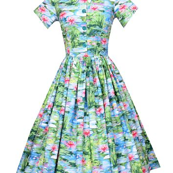 Joy Dress in Waterlily