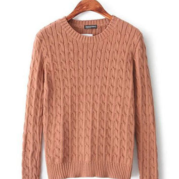 Twist Weave Sweater