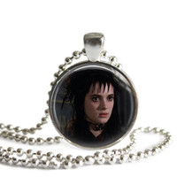 Lydia Necklace Featuring Winona Ryder as Lydia from Beetlejuice