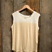 Levi's Made and Crafted - Women's Roller Tank Star White