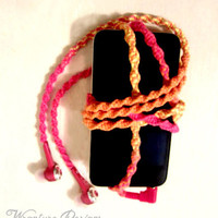 Wrapped Earbuds / Tangle Free Headphones 'Lollipop' By Wrapture Designs