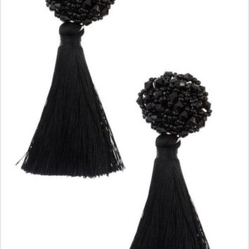 Make a Wish Fringe Earrings