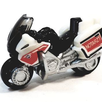 Matchbox Limited Fire Department Mozarati Motorcycle 1/64 S Scale Diecast Motorbike
