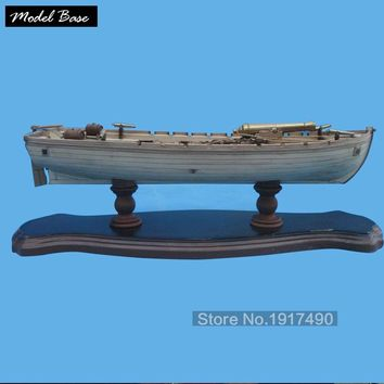 Wooden Ship Models Kits 3d Laser Cut Model-Wood-Boats Train Hobby Scale 1/36 Model-Ship-Assembly Diy 42 Ft Armed Longboats 1834