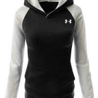 """Under Armour"" Women Fashion Hooded Top Pullover Sweater Sweatshirt"