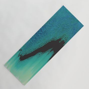 The Rift Yoga Mat by duckyb
