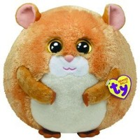 Ty Beanie Ballz Flash The Hamster (Medium)