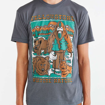 Parks Project Bigfoot Yellowstone Tee - Urban Outfitters