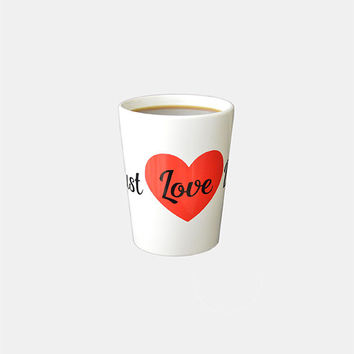 "Must Love Dogs! Must Love Dogs Coffee Mug for Dog Lovers who ""Must Love Dogs"""