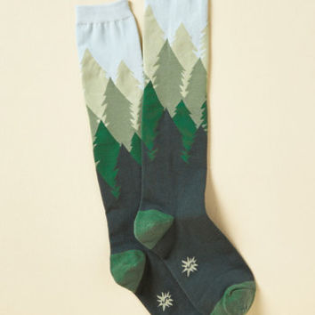 Fir the Fun of It Socks | Mod Retro Vintage Socks | ModCloth.com