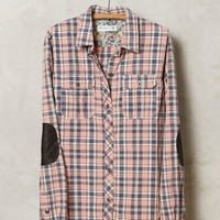 Dianthus Plaid Buttondown by Artisan de Luxe Pink