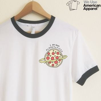 AA Rumi Pizza Planet Ringer Tee
