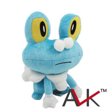 cartoon plush small Foam frog Plush Toys Anime Stuffed dolls Soft figure toys 18cm frog doll for gift