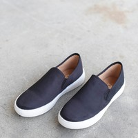 Slip On Sneakers, Black