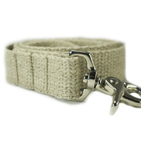 Vegan Dog Leash 100% Organic Hemp 1""