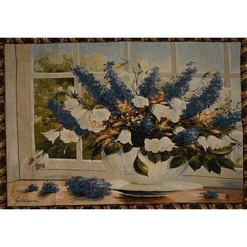 Tache 33 x 24 Inches Floral Sunlight Radiance Tapestry Wall Hanging With (WH-13018)