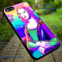 Monalisa Lisa Frank Style iPhone 6s 6 6s+ 5c 5s Cases Samsung Galaxy s5 s6 Edge+ NOTE 5 4 3 #art dt