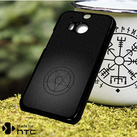 Baphomet Logo HTC One M7 One M8 One M9 Plus One M10 Case