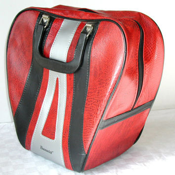 Red Tote - Brunswick Vintage Bowling Bag