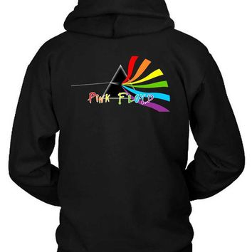 CREYH9S Pink Floyd Rotate Hoodie Two Sided